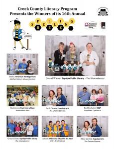 2014 Spelling Bee Winners